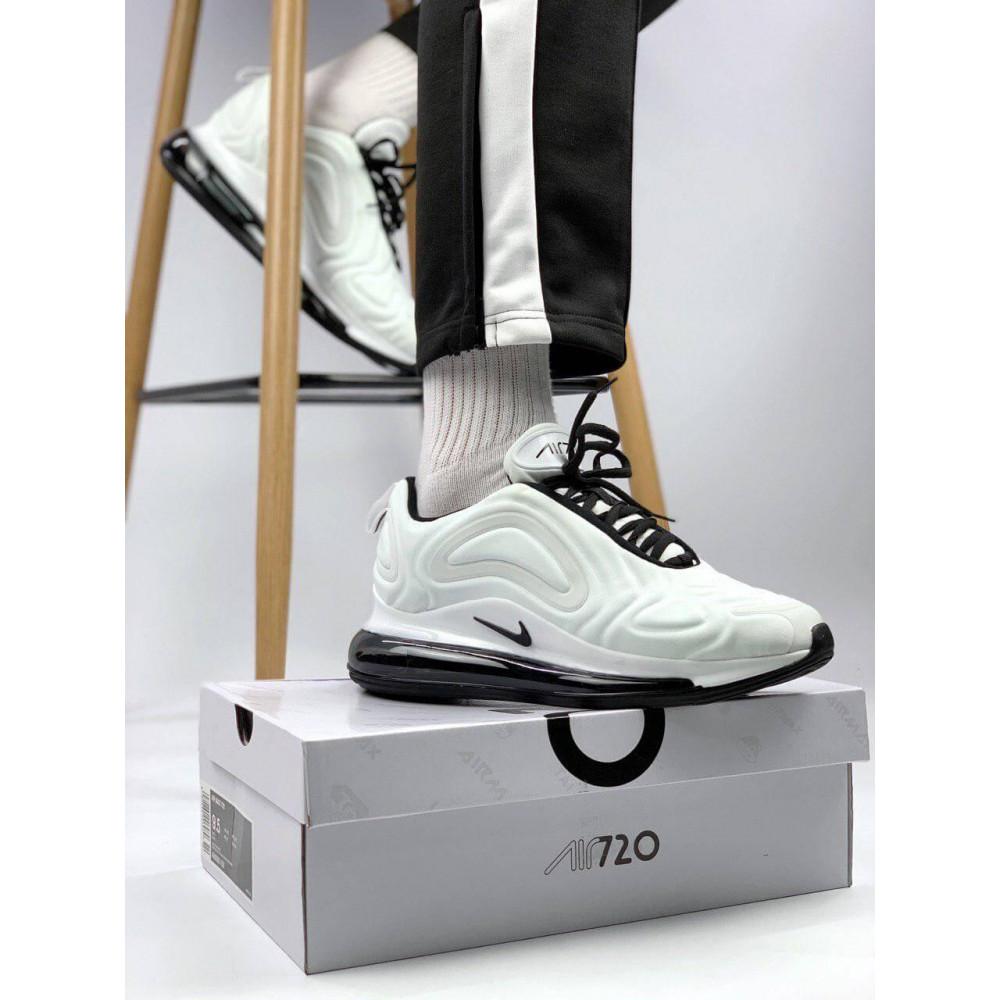 Демисезонные кроссовки мужские   - Белые летние мужские кроссовки Nike Air Max 720 5