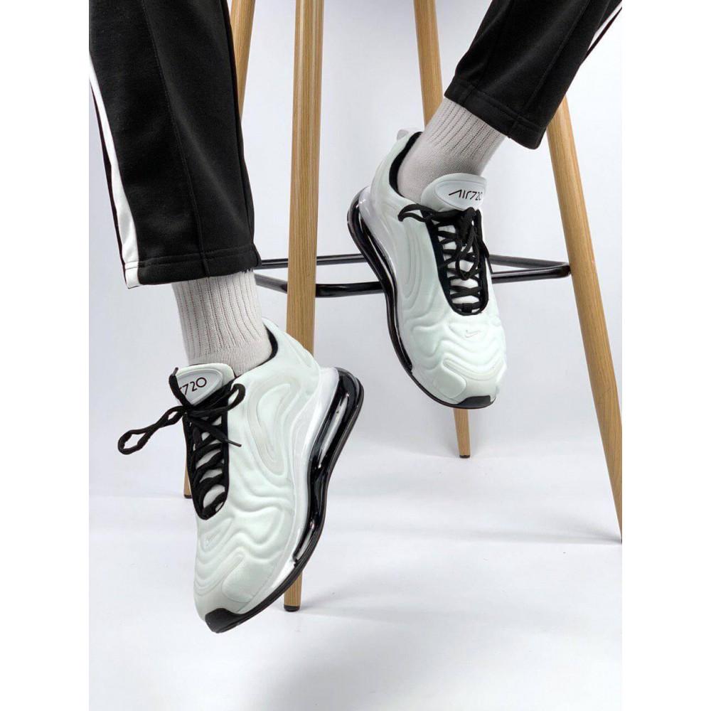 Демисезонные кроссовки мужские   - Белые летние мужские кроссовки Nike Air Max 720 7
