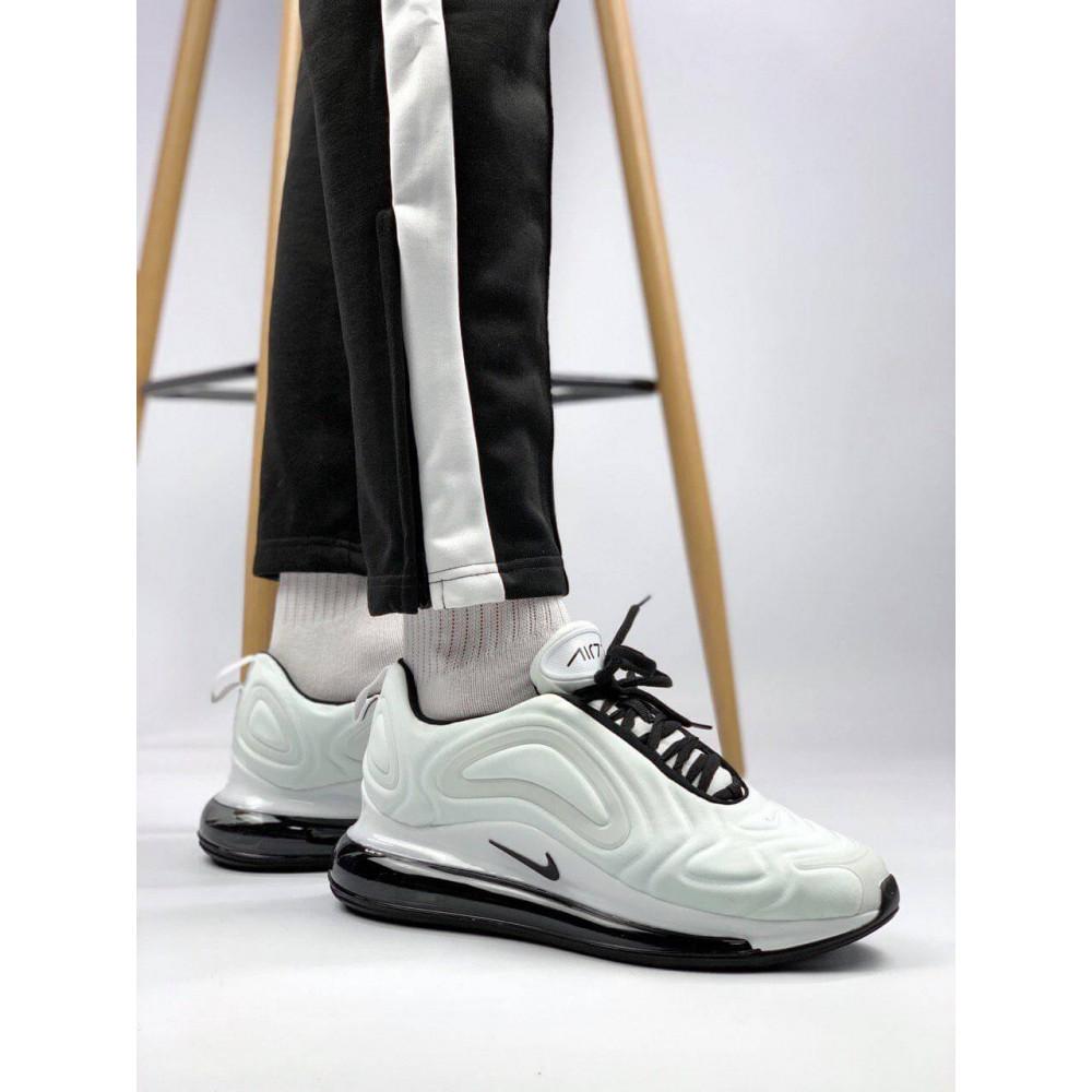 Демисезонные кроссовки мужские   - Белые летние мужские кроссовки Nike Air Max 720 6