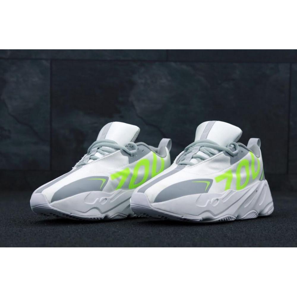 Демисезонные кроссовки мужские   - Мужские кроссовки Adidas Yeezy Boost 700 Grey Yellow 1