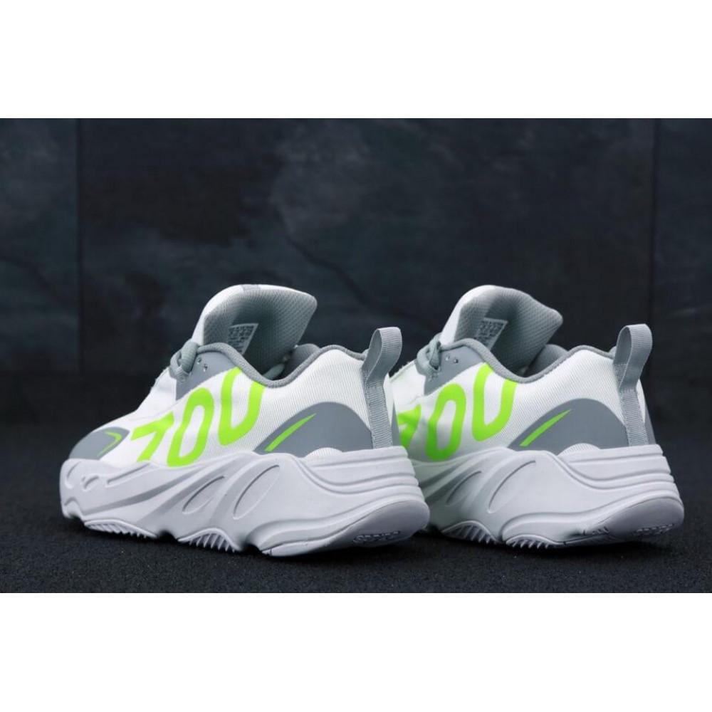 Демисезонные кроссовки мужские   - Мужские кроссовки Adidas Yeezy Boost 700 Grey Yellow 4