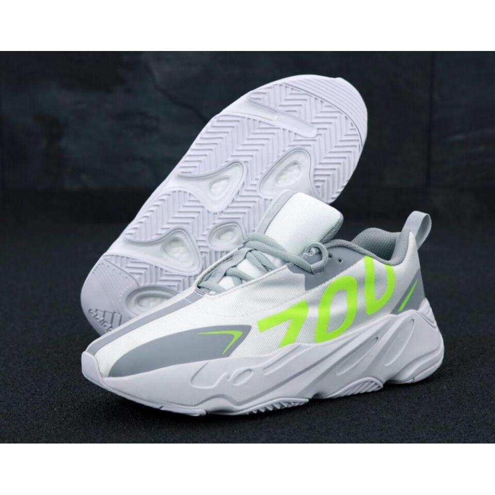 Демисезонные кроссовки мужские   - Мужские кроссовки Adidas Yeezy Boost 700 Grey Yellow 2