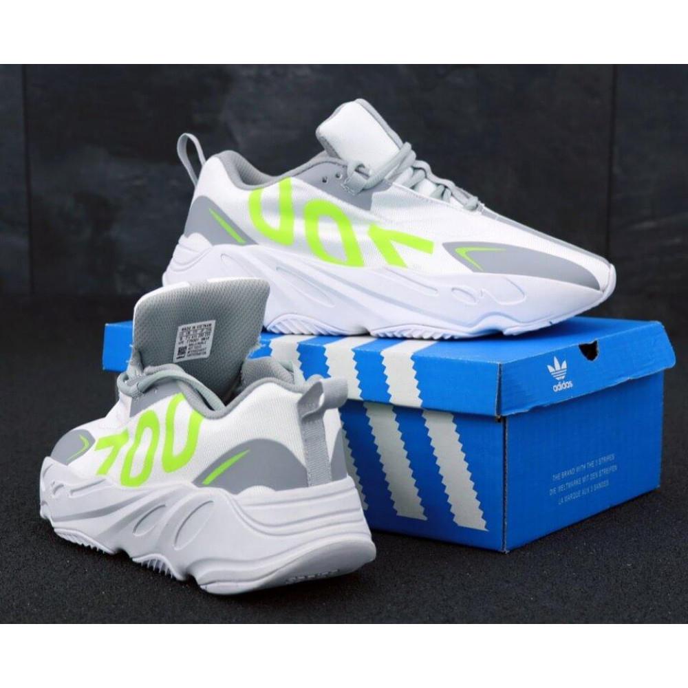 Демисезонные кроссовки мужские   - Мужские кроссовки Adidas Yeezy Boost 700 Grey Yellow 3