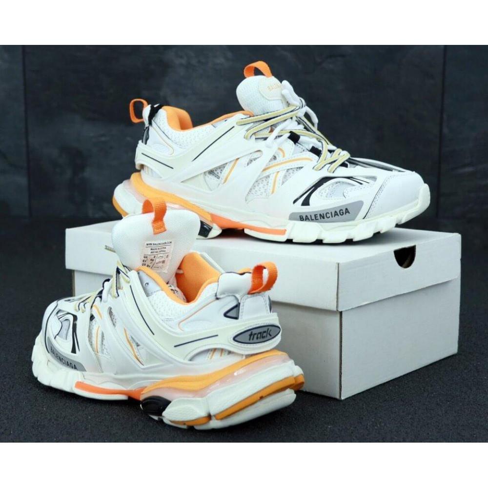 Классические кроссовки мужские - Мужские кроссовки Balenciaga Track серого цвета 3