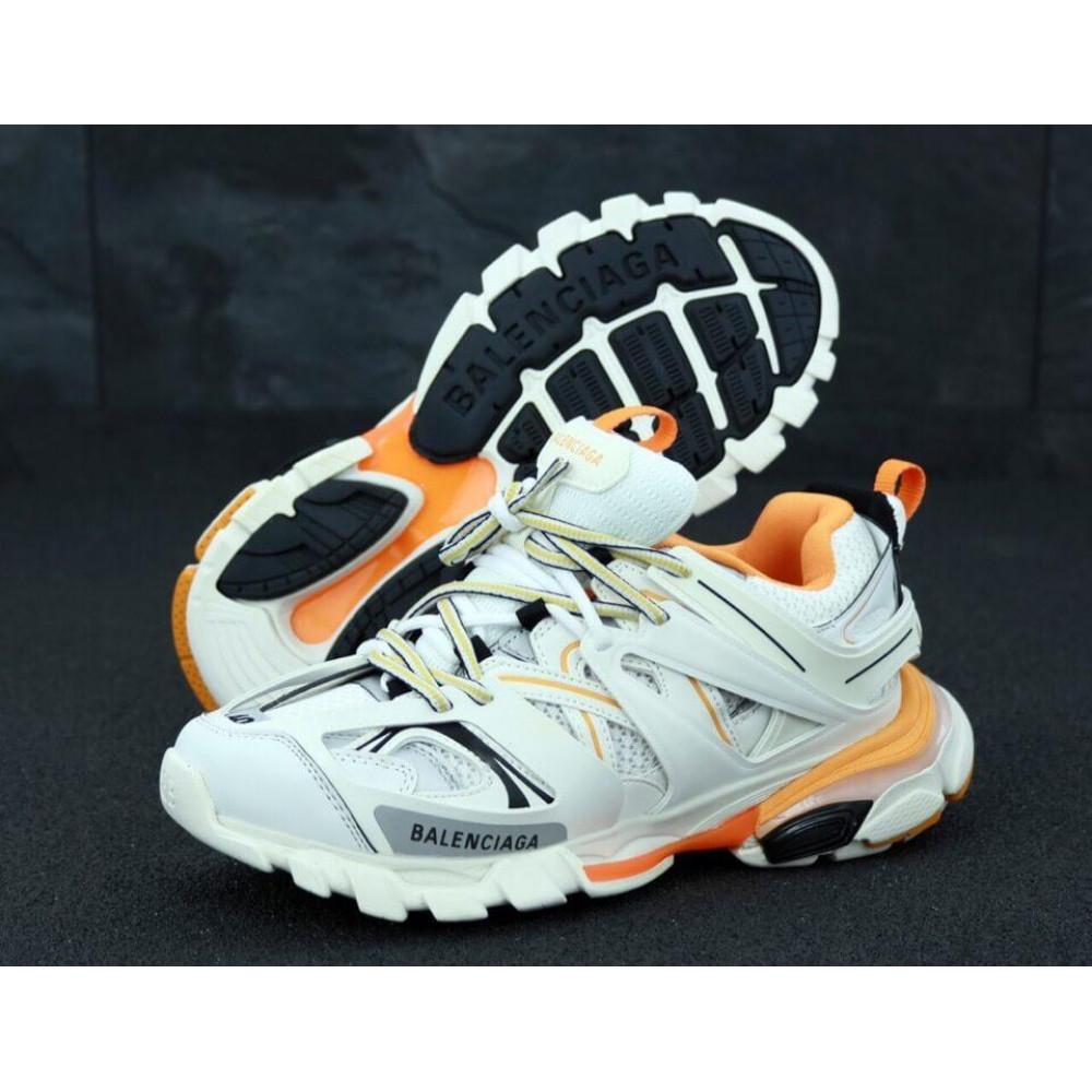 Классические кроссовки мужские - Мужские кроссовки Balenciaga Track серого цвета 2