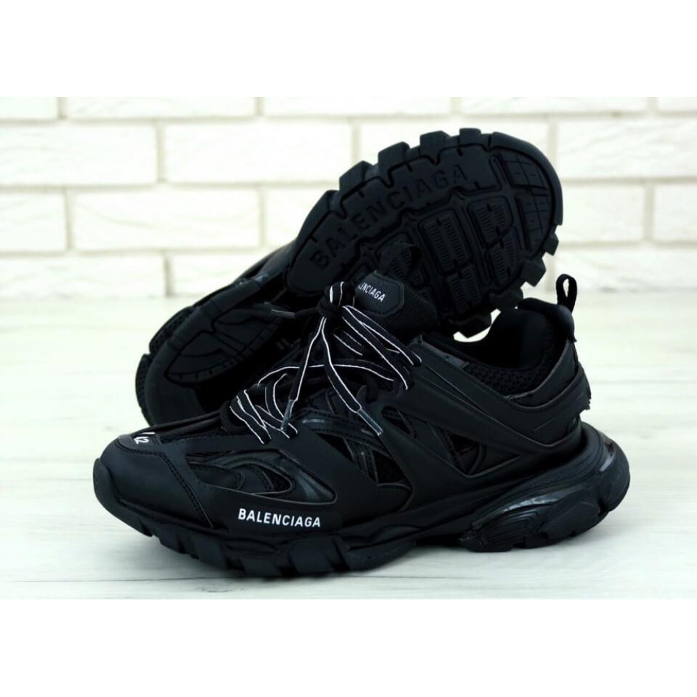 Классические кроссовки мужские - Мужские кроссовки Balenciaga Track черного цвета 1