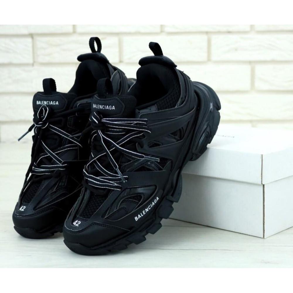 Классические кроссовки мужские - Мужские кроссовки Balenciaga Track черного цвета