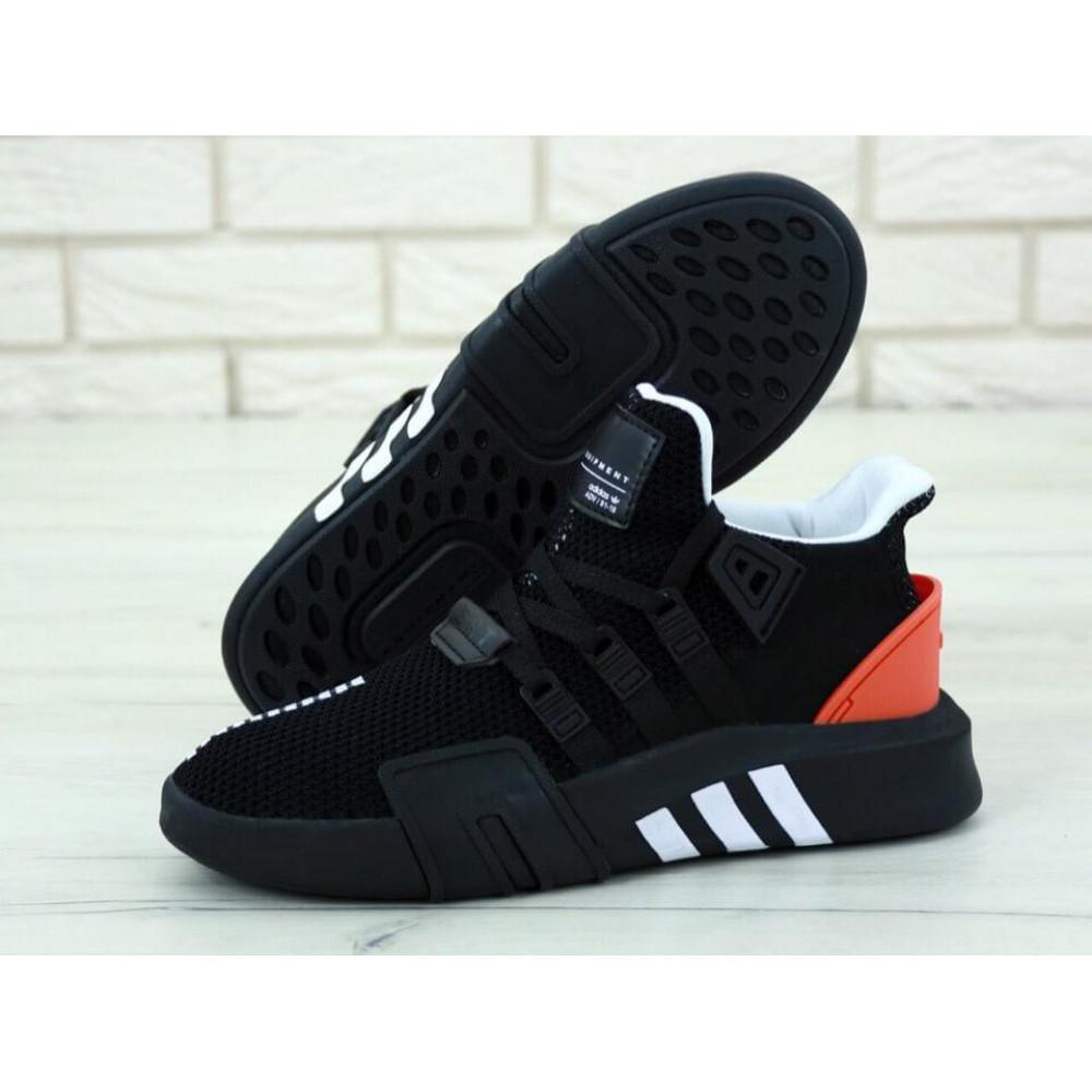 Беговые кроссовки мужские  - Мужские кроссовки Adidas EQT ADV Black Red 1
