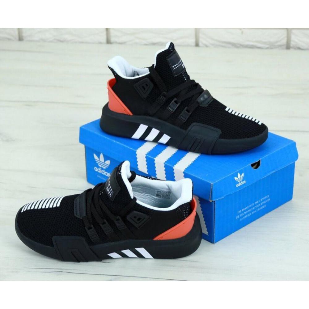 Беговые кроссовки мужские  - Мужские кроссовки Adidas EQT ADV Black Red 3