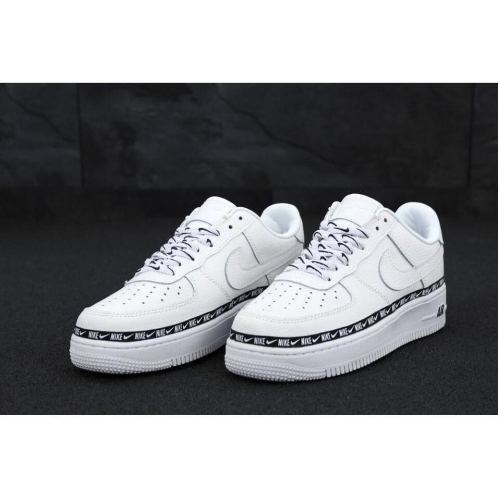 Классические кроссовки мужские - Мужские кроссовки Найк Аир Форс 1 белые 3