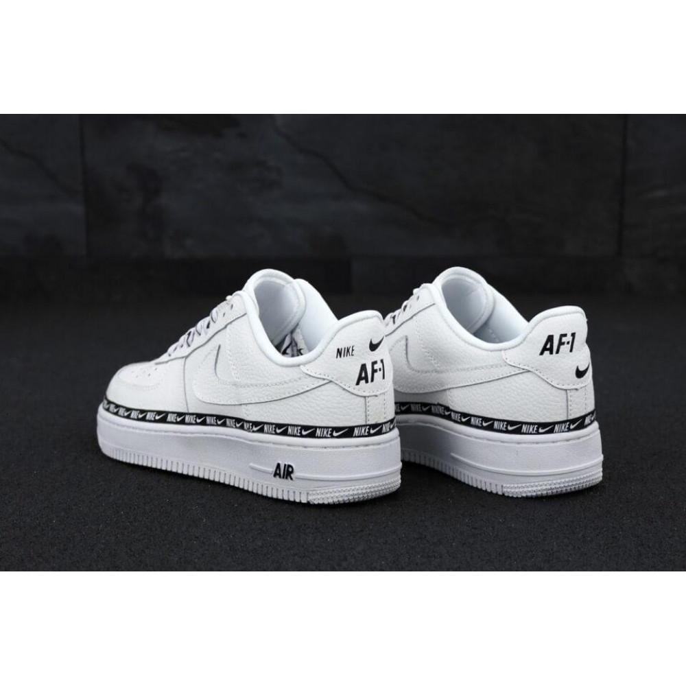 Классические кроссовки мужские - Мужские кроссовки Найк Аир Форс 1 белые 4