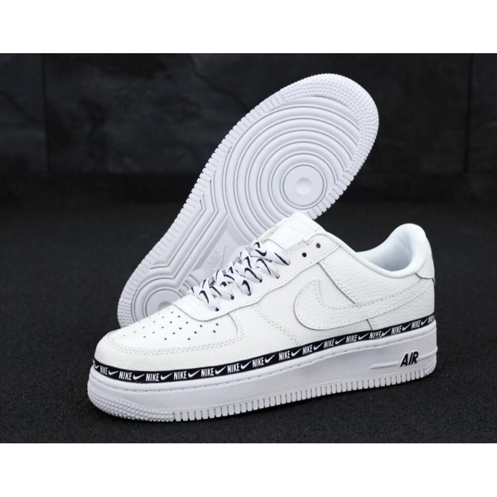 Классические кроссовки мужские - Мужские кроссовки Найк Аир Форс 1 белые 1