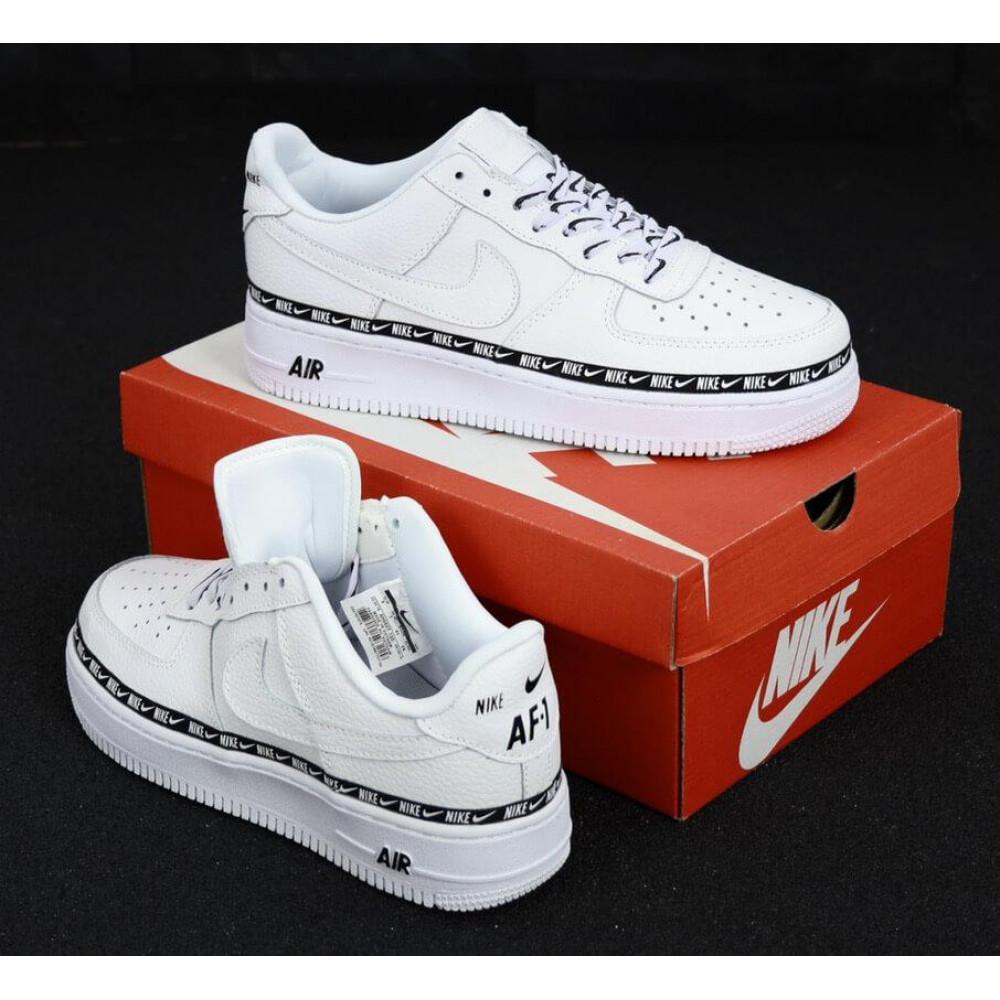 Классические кроссовки мужские - Мужские кроссовки Найк Аир Форс 1 белые 2