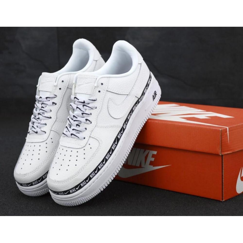 Классические кроссовки мужские - Мужские кроссовки Найк Аир Форс 1 белые