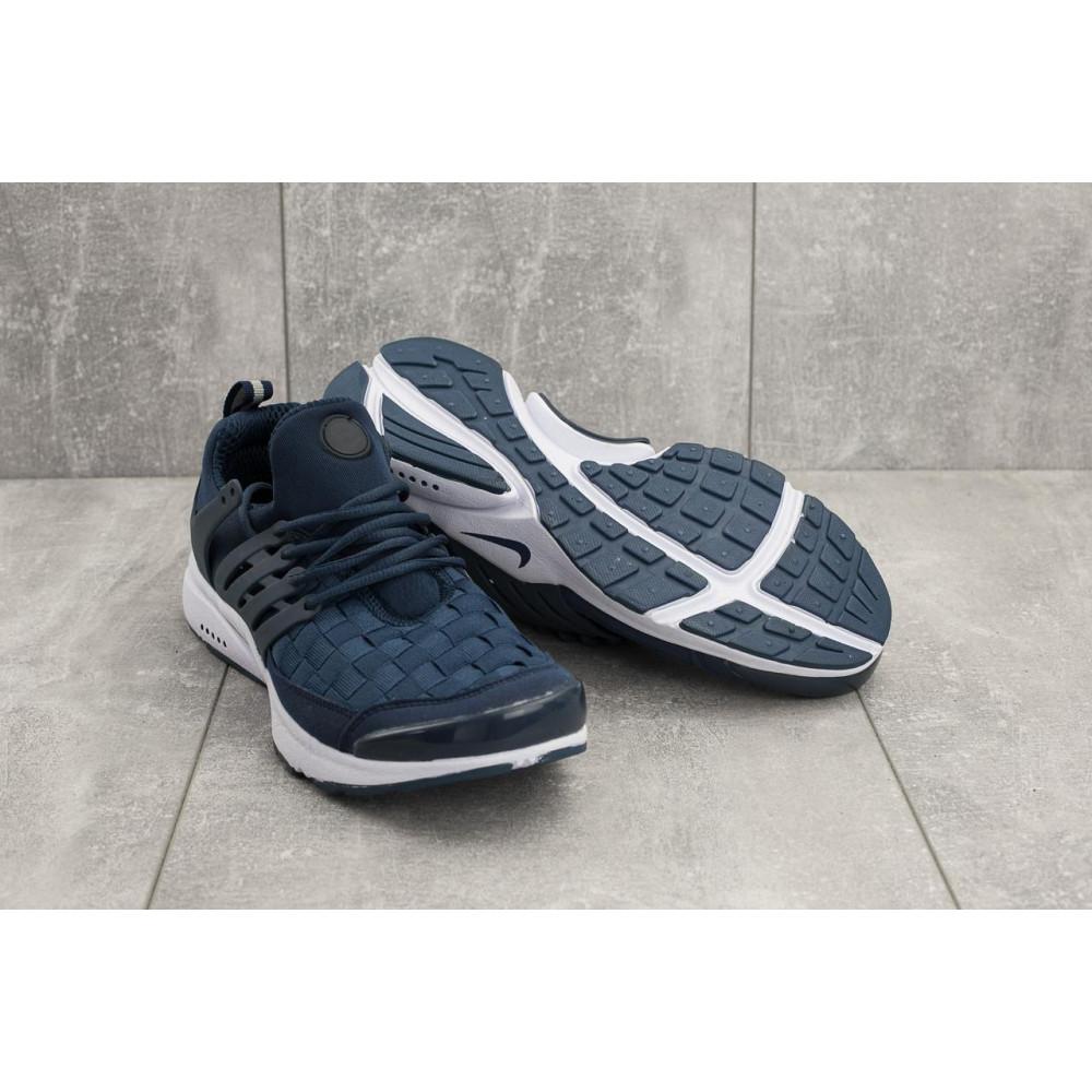 Демисезонные кроссовки мужские   - Мужские кроссовки текстильные весна/осень синие Classica G 5079 -1 4