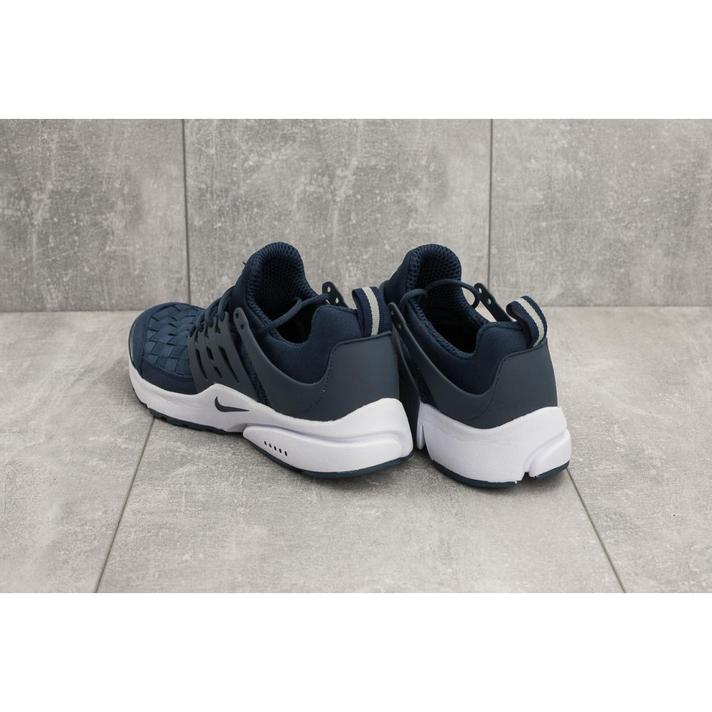 Демисезонные кроссовки мужские   - Мужские кроссовки текстильные весна/осень синие Classica G 5079 -1 3