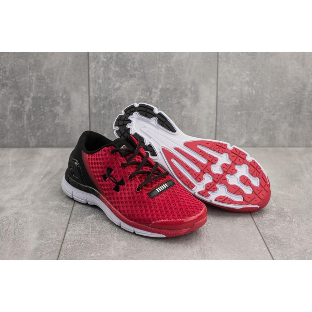 Демисезонные кроссовки мужские   - Мужские кроссовки текстильные весна/осень красные Classica G 5073 -1 4