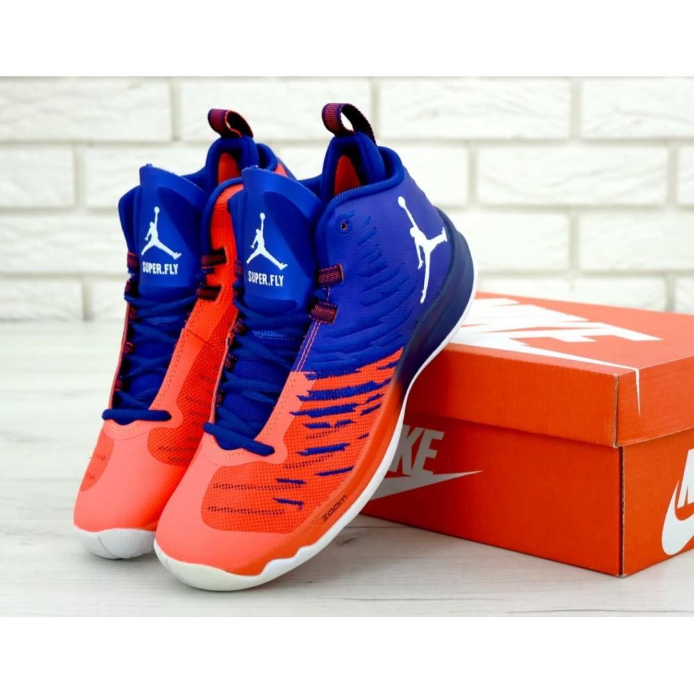 Демисезонные кроссовки мужские   - Баскетбольные кроссовки Air Jordan Super Fly