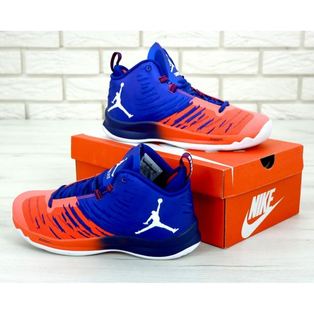 Демисезонные кроссовки мужские   - Баскетбольные кроссовки Air Jordan Super Fly 2
