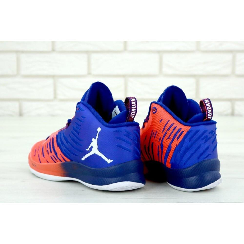 Демисезонные кроссовки мужские   - Баскетбольные кроссовки Air Jordan Super Fly 4
