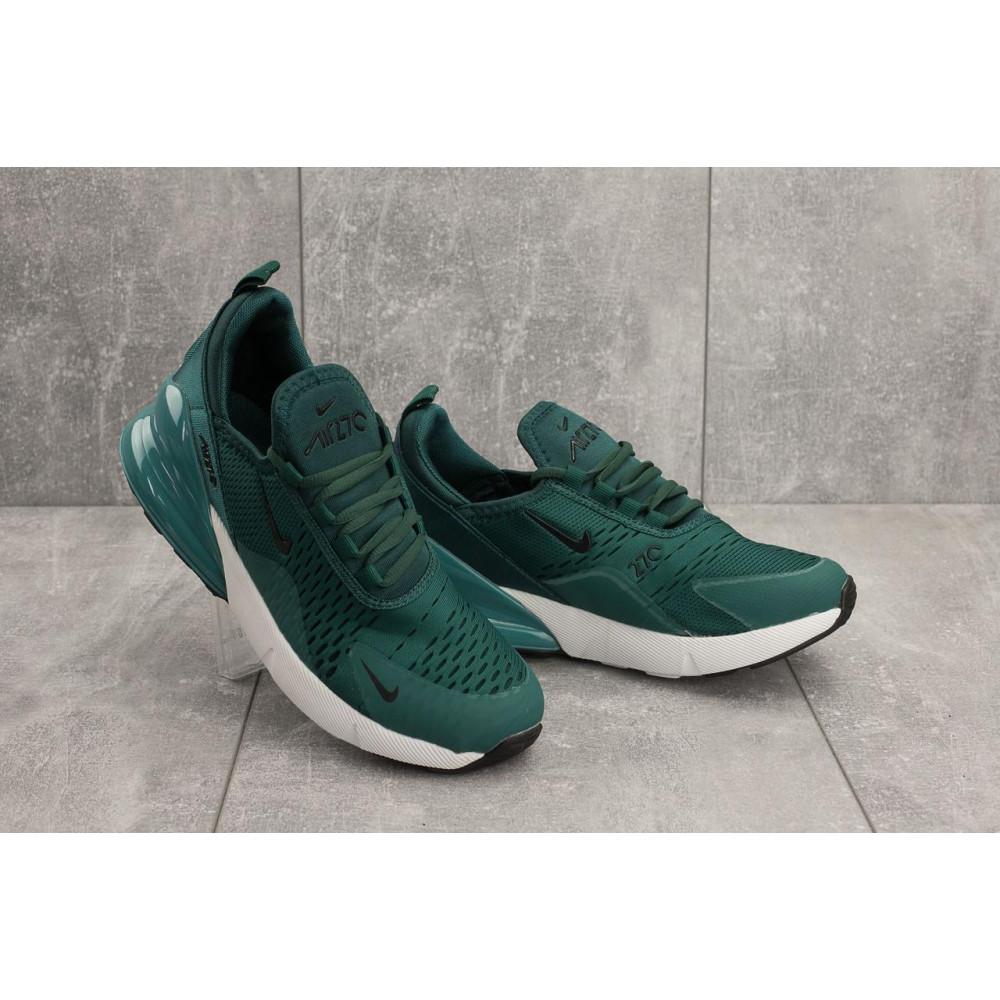 Демисезонные кроссовки мужские   - Мужские кроссовки текстильные весна/осень зеленые Aoka B 1122 -10