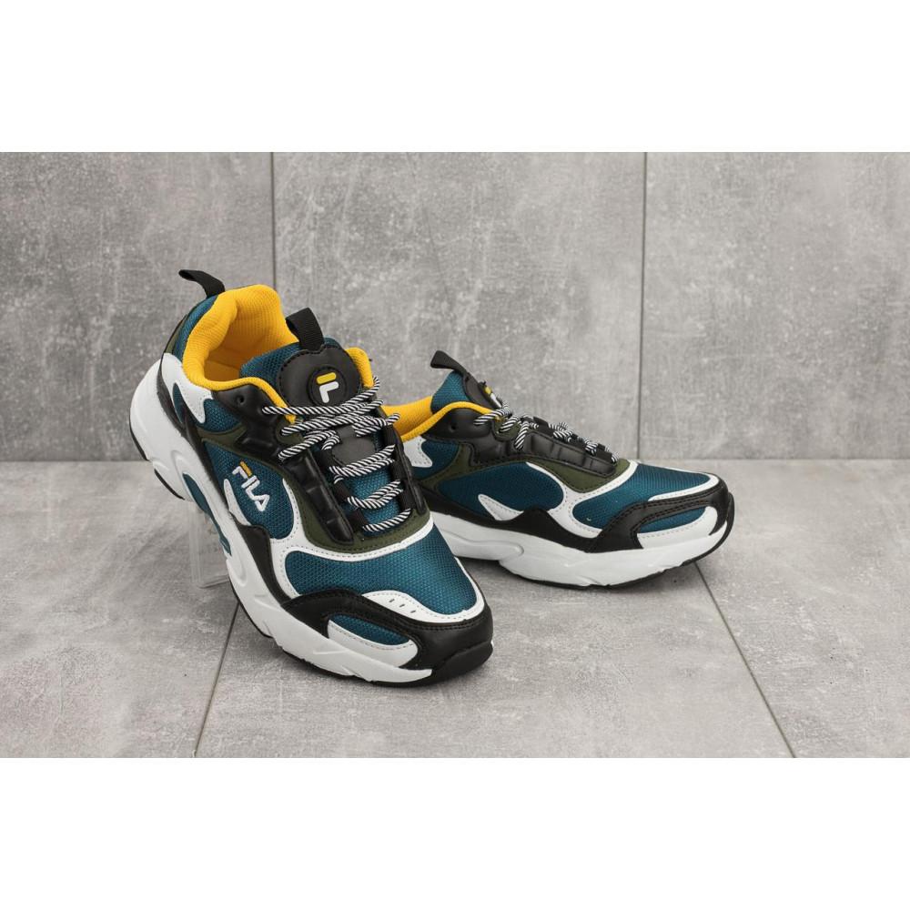 Демисезонные кроссовки мужские   - Мужские кроссовки текстильные весна/осень синие Baas A 387 -23