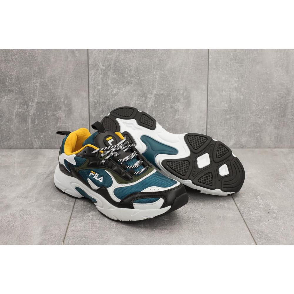 Демисезонные кроссовки мужские   - Мужские кроссовки текстильные весна/осень синие Baas A 387 -23 4