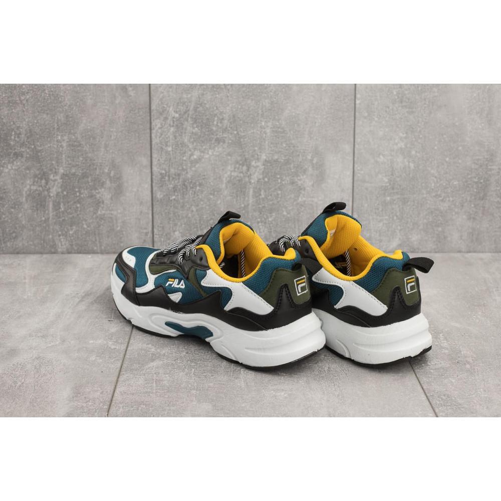 Демисезонные кроссовки мужские   - Мужские кроссовки текстильные весна/осень синие Baas A 387 -23 3