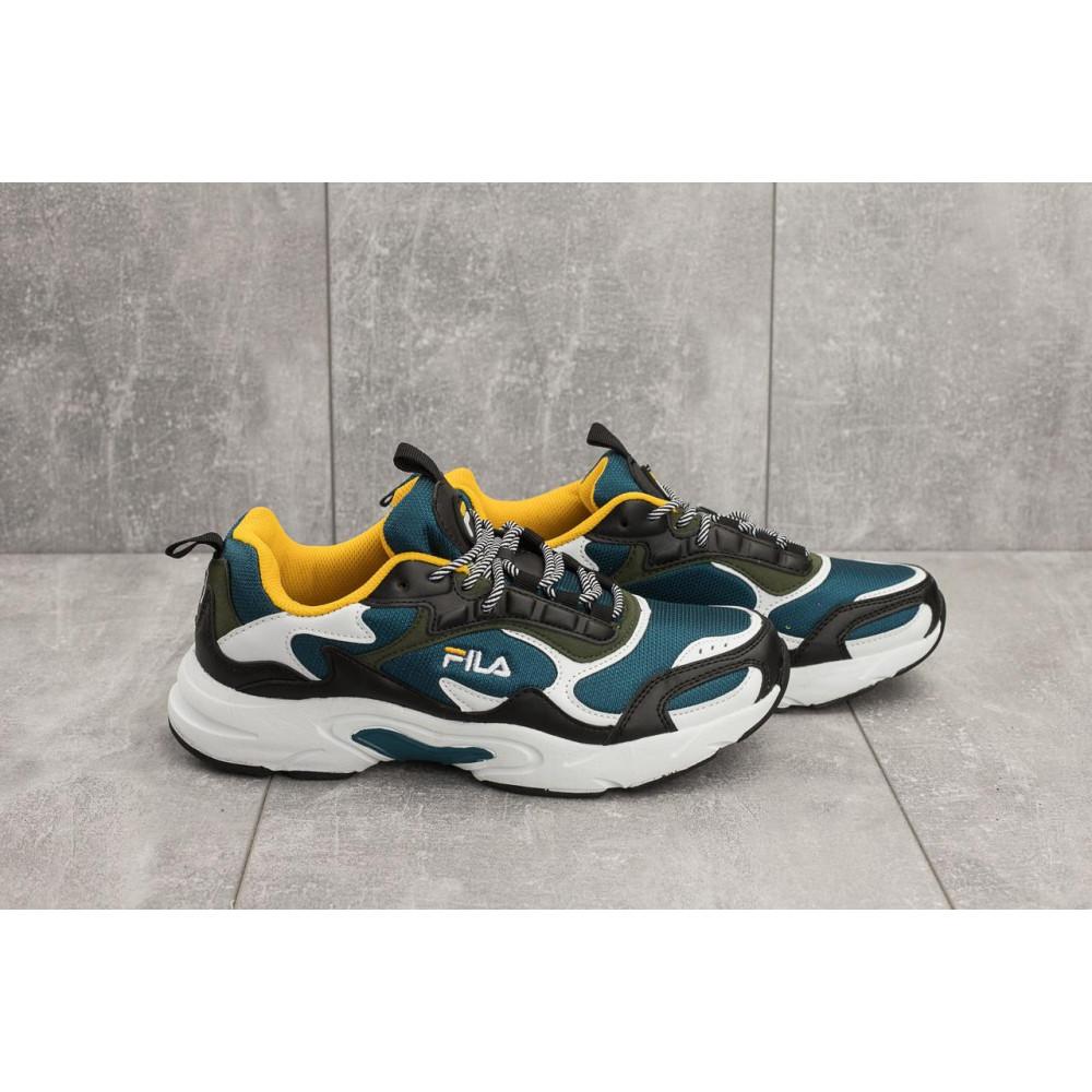 Демисезонные кроссовки мужские   - Мужские кроссовки текстильные весна/осень синие Baas A 387 -23 2