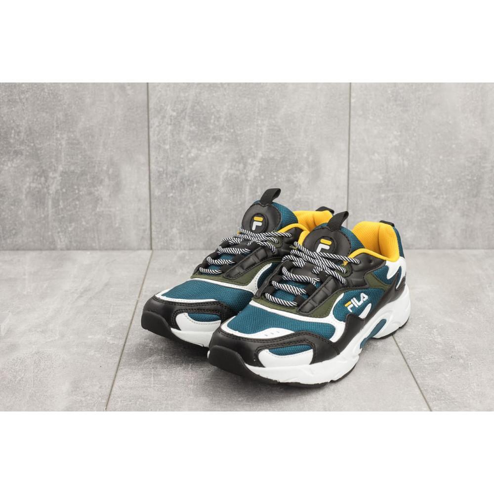 Демисезонные кроссовки мужские   - Мужские кроссовки текстильные весна/осень синие Baas A 387 -23 1