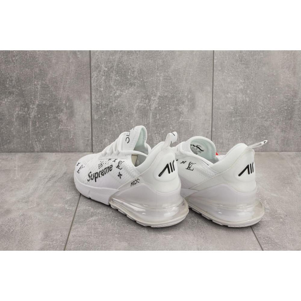 Демисезонные кроссовки мужские   - Мужские кроссовки текстильные весна/осень белые Aoka Supr A 270 -3 2