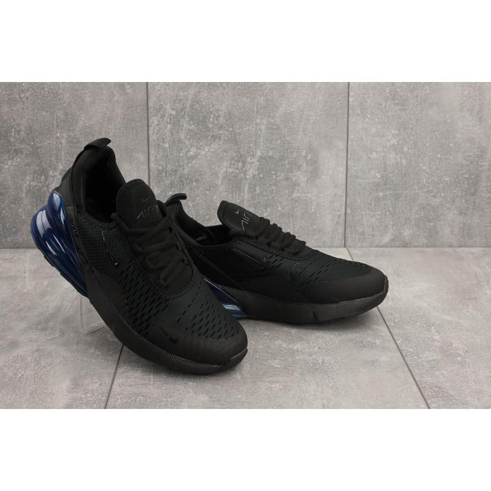Демисезонные кроссовки мужские   - Мужские кроссовки текстильные весна/осень черные Aoka A 1122