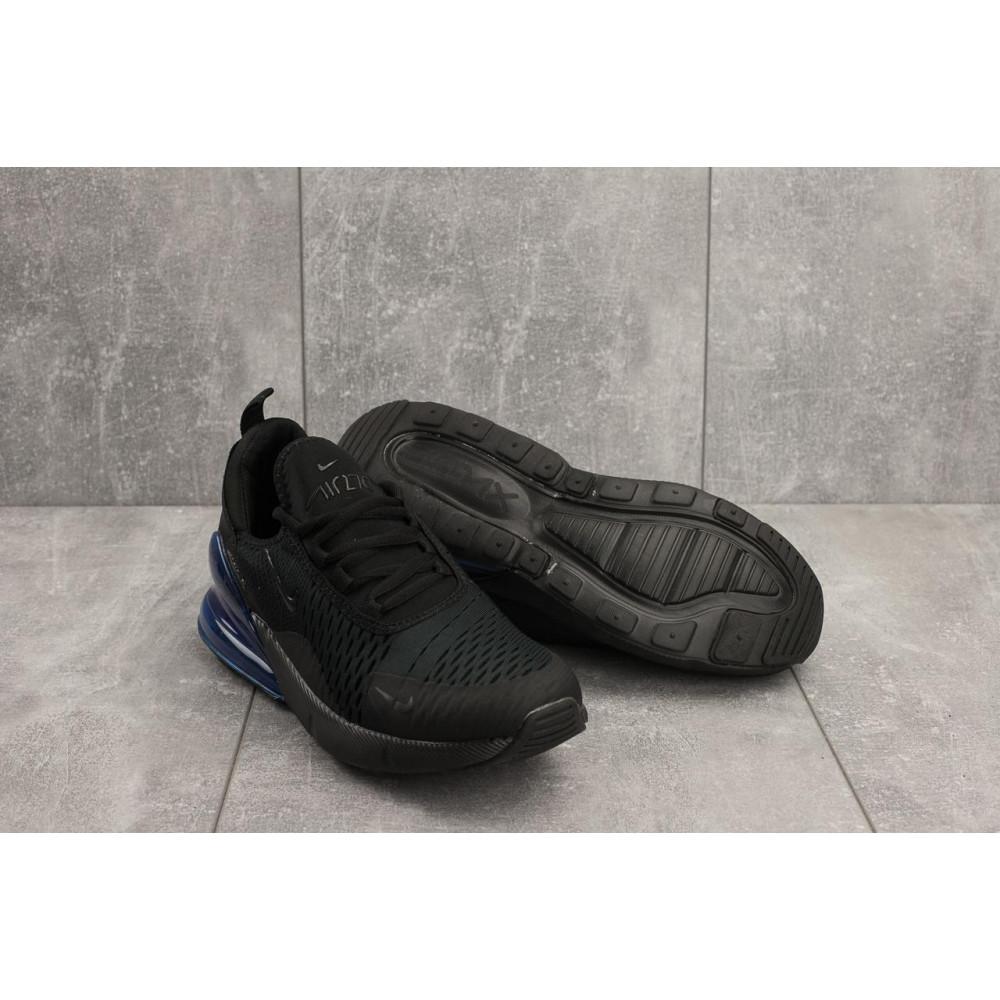 Демисезонные кроссовки мужские   - Мужские кроссовки текстильные весна/осень черные Aoka A 1122 1