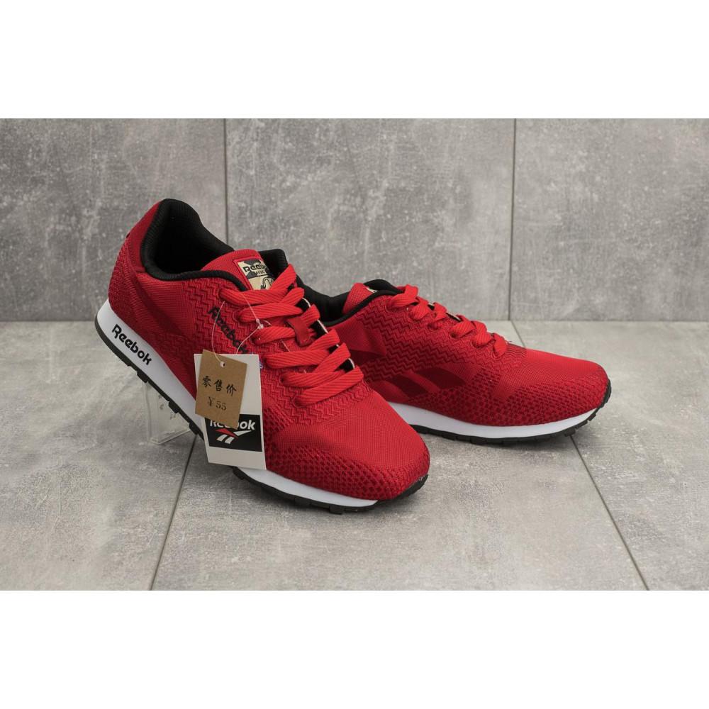 Демисезонные кроссовки мужские   - Мужские кроссовки текстильные весна/осень красные Ditof A 061 -48 T