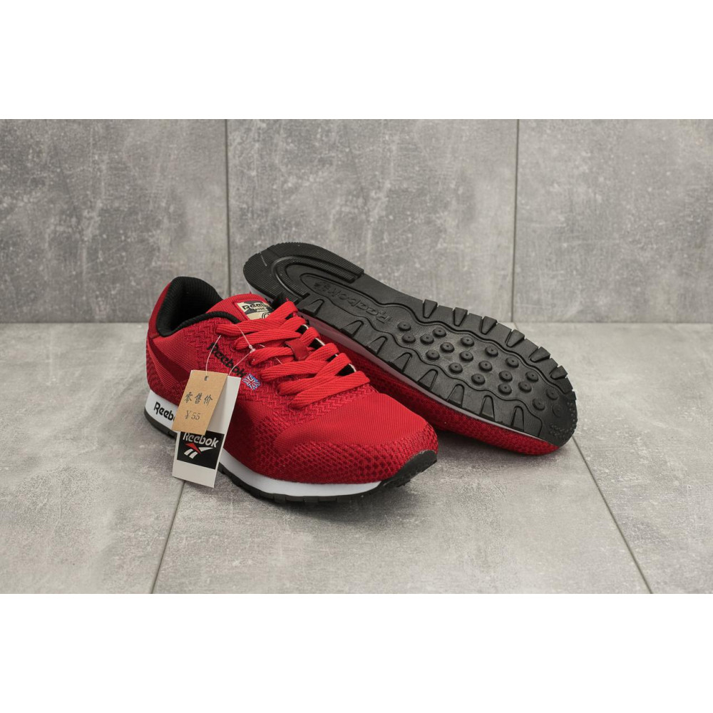 Демисезонные кроссовки мужские   - Мужские кроссовки текстильные весна/осень красные Ditof A 061 -48 T 4