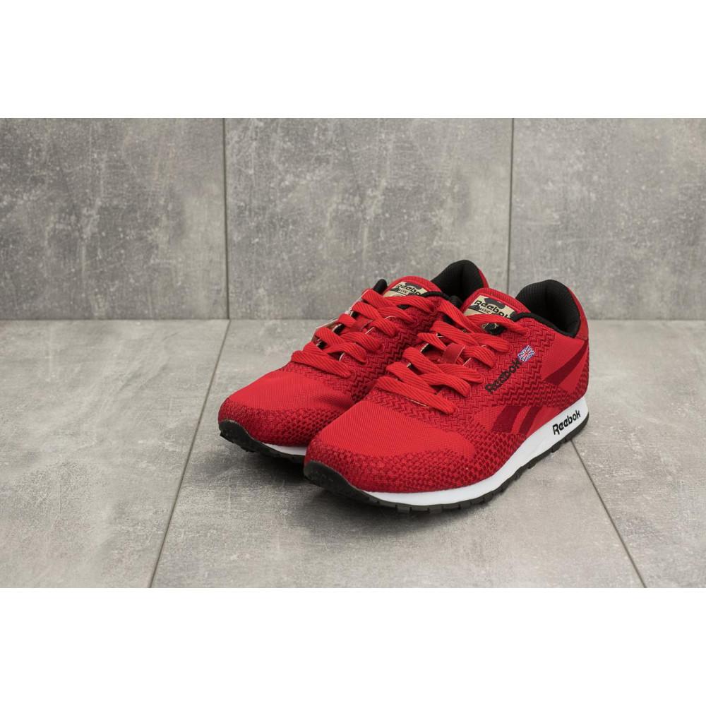Демисезонные кроссовки мужские   - Мужские кроссовки текстильные весна/осень красные Ditof A 061 -48 T 1