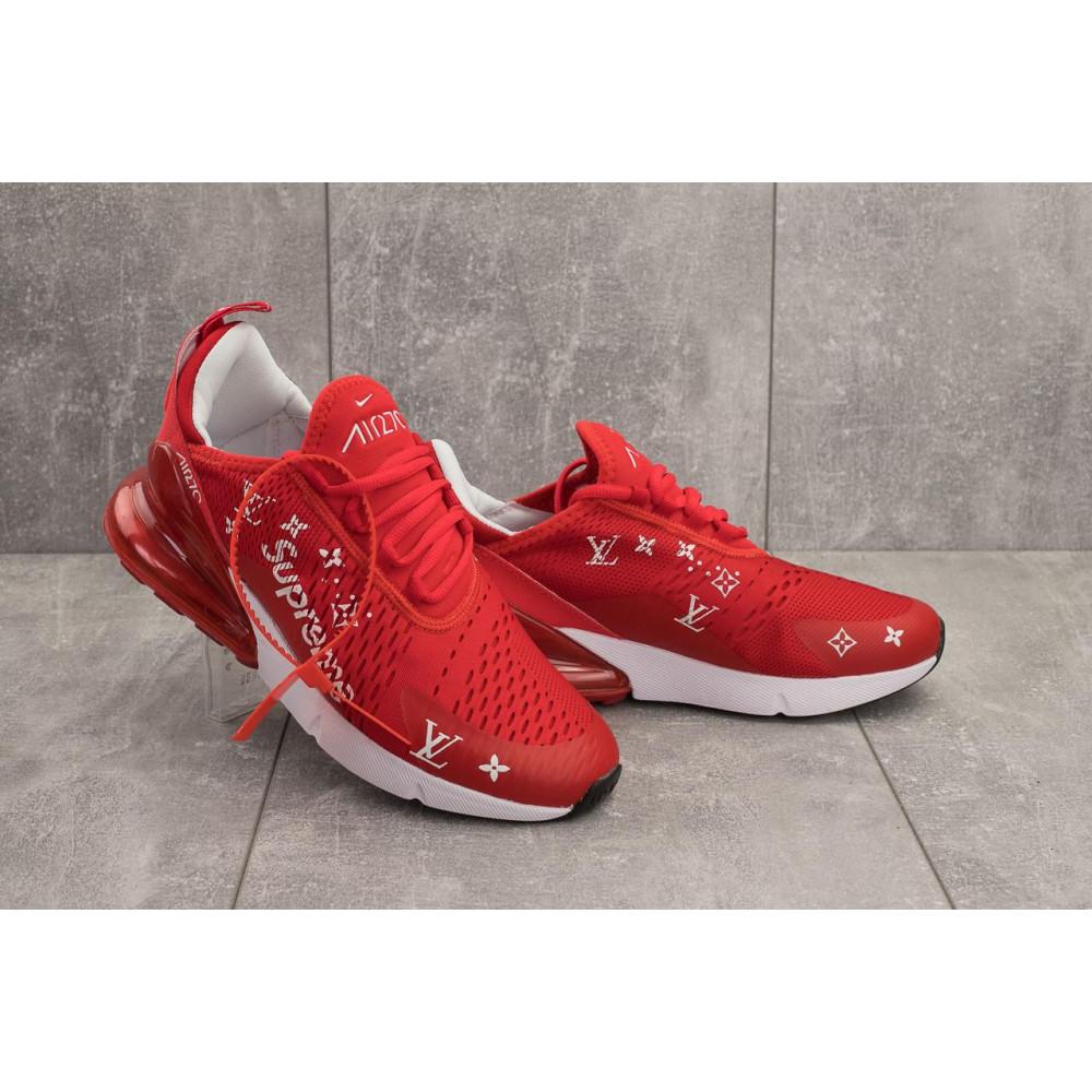 Демисезонные кроссовки мужские   - Мужские кроссовки текстильные весна/осень красные Aoka Supr A 270 -5