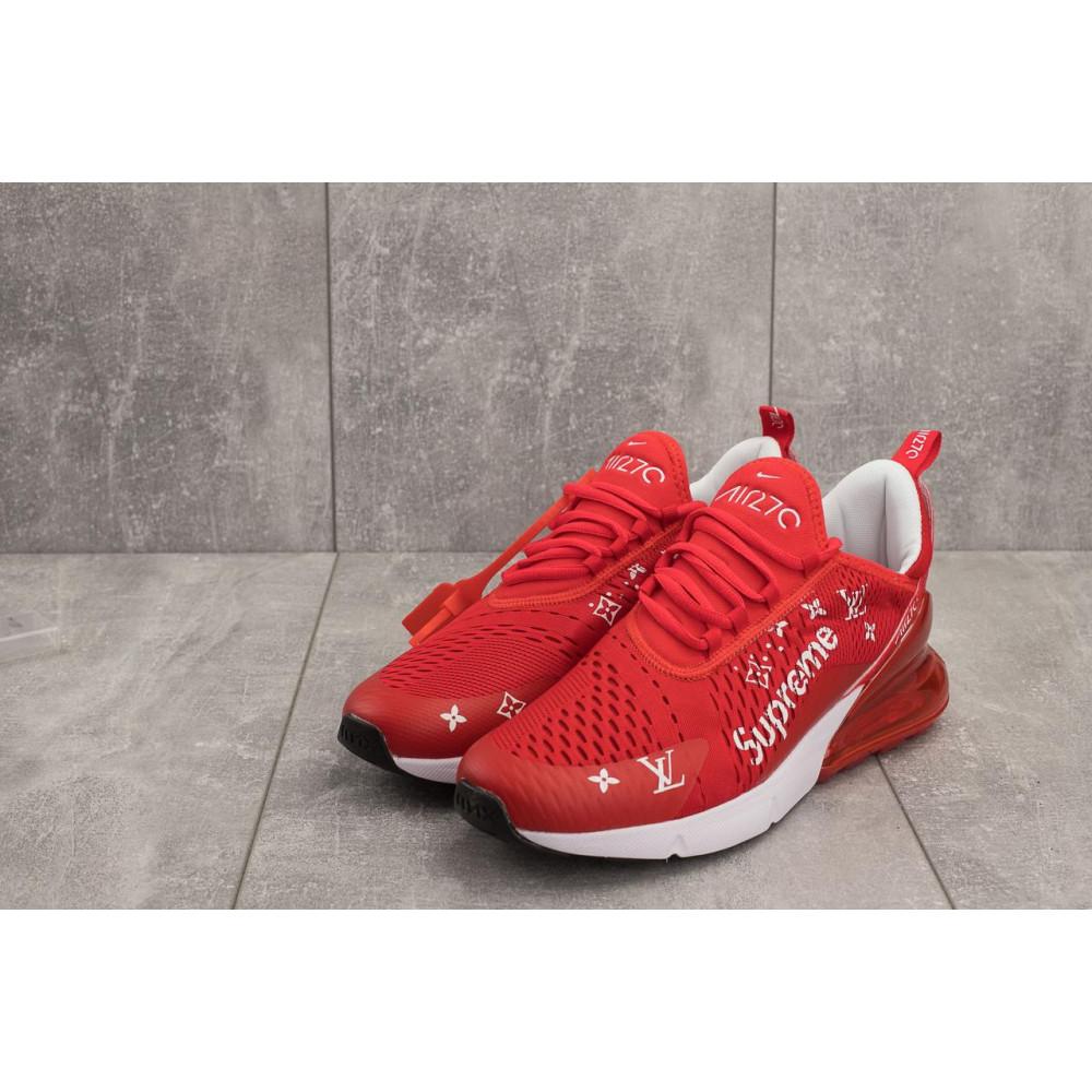 Демисезонные кроссовки мужские   - Мужские кроссовки текстильные весна/осень красные Aoka Supr A 270 -5 4
