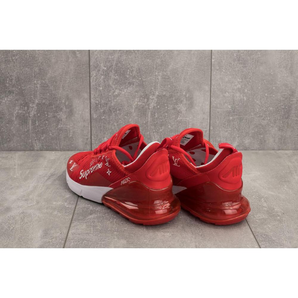 Демисезонные кроссовки мужские   - Мужские кроссовки текстильные весна/осень красные Aoka Supr A 270 -5 2