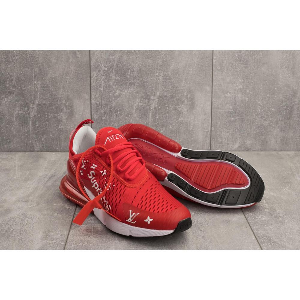 Демисезонные кроссовки мужские   - Мужские кроссовки текстильные весна/осень красные Aoka Supr A 270 -5 1