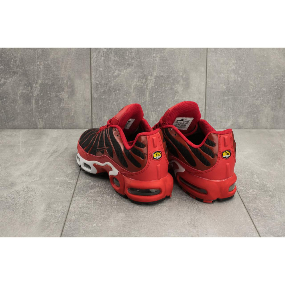 Демисезонные кроссовки мужские   - Мужские кроссовки текстильные весна/осень красные Ditof TN-14 3