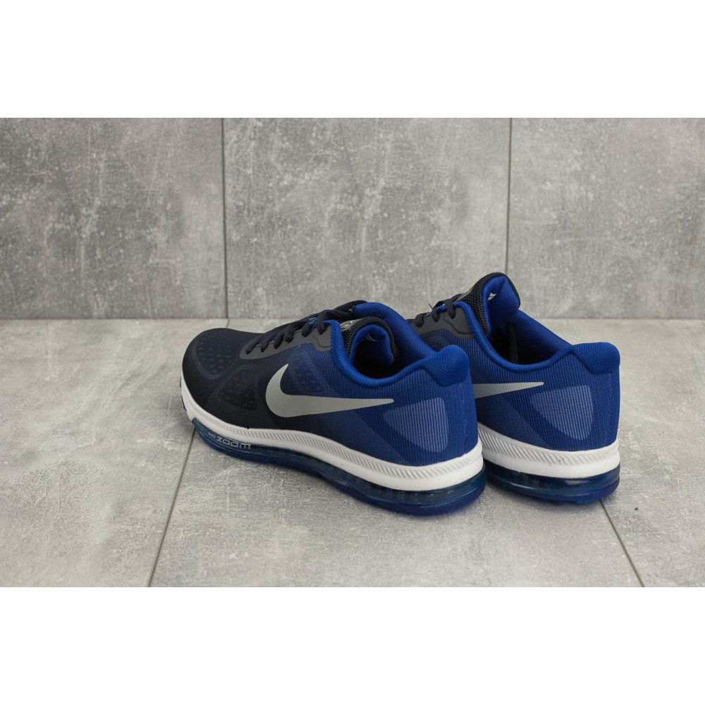 Демисезонные кроссовки мужские   - Мужские кроссовки текстильные весна/осень синие Aoka Zoom A 002 -13 3