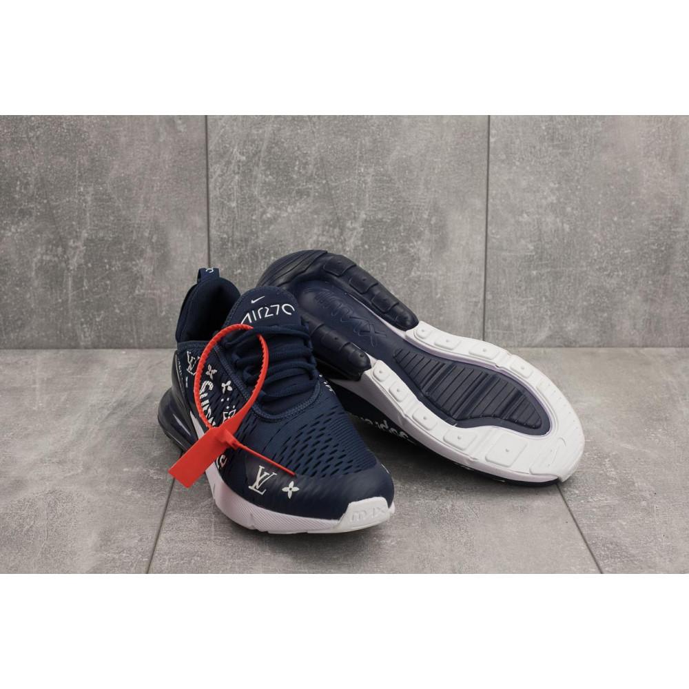 Беговые кроссовки мужские  - Мужские кроссовки текстильные весна/осень синие Aoka Supr A 270 -4 1