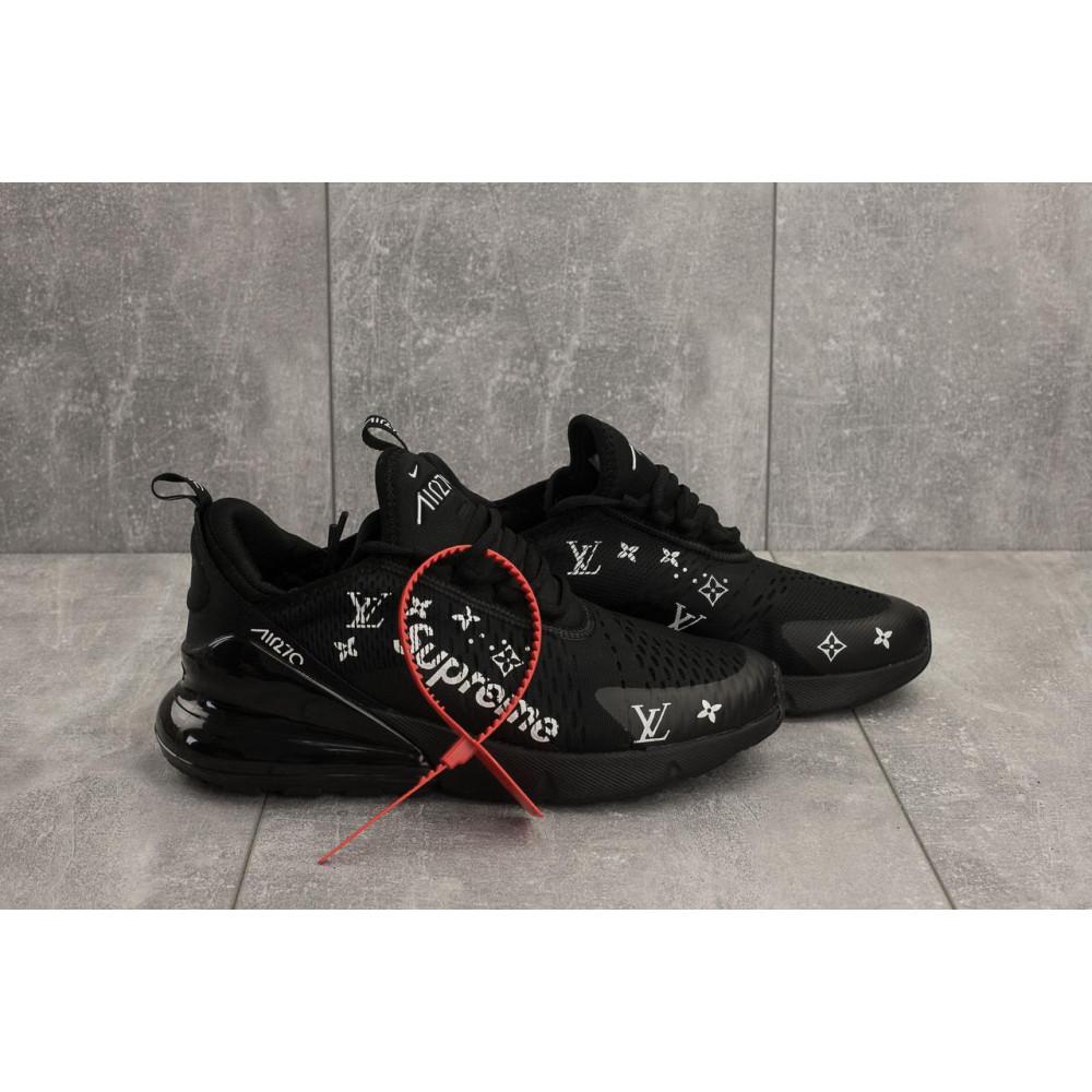 Демисезонные кроссовки мужские   - Мужские кроссовки текстильные весна/осень черные Aoka Supr A 270 -2 2
