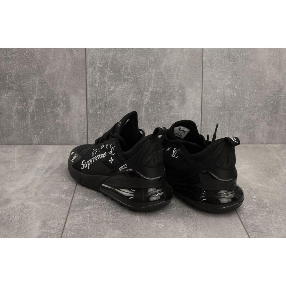 Демисезонные кроссовки мужские   - Мужские кроссовки текстильные весна/осень черные Aoka Supr A 270 -2 3