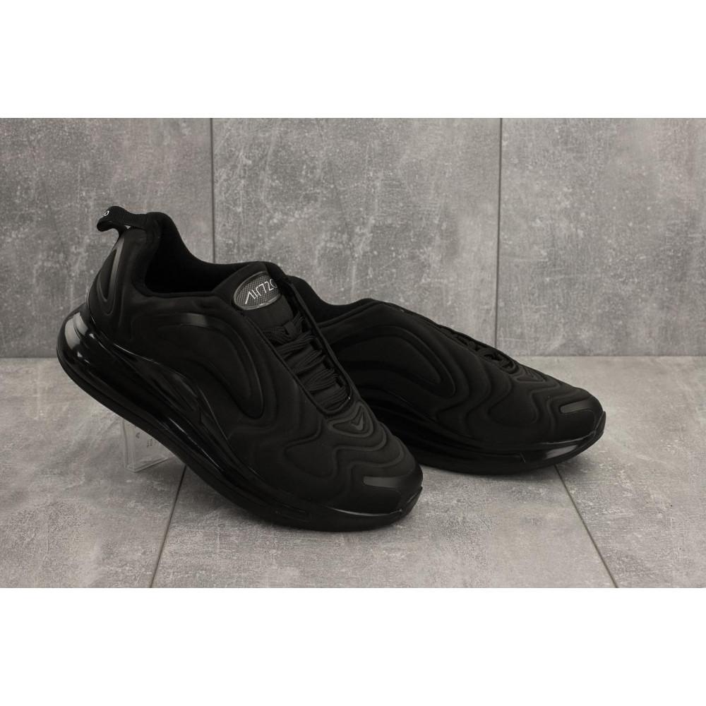Классические кроссовки мужские - Мужские кроссовки текстильные весна/осень черные Ditof A 1154 -1