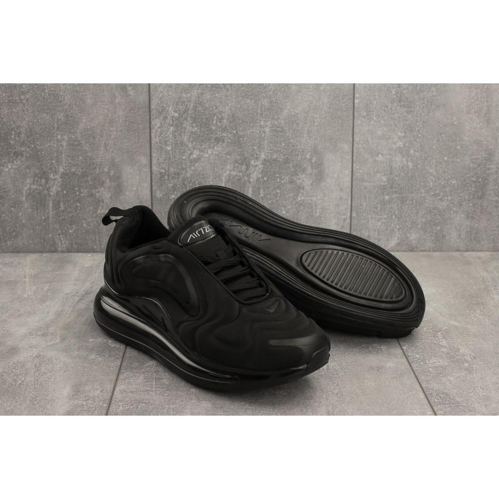 Классические кроссовки мужские - Мужские кроссовки текстильные весна/осень черные Ditof A 1154 -1 3