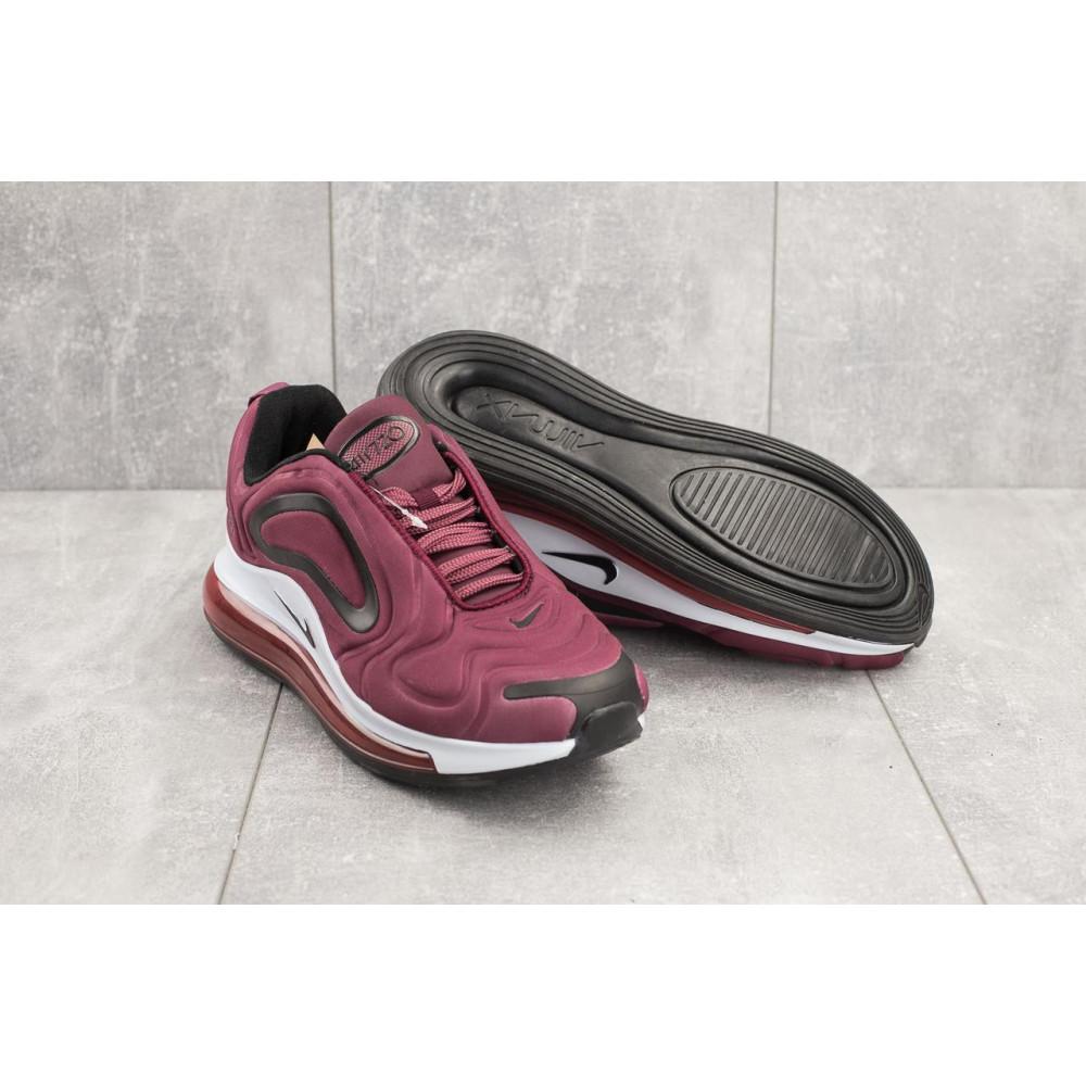 Демисезонные кроссовки мужские   - Мужские кроссовки текстильные весна/осень бордовые Ditof A 1154 -7 4