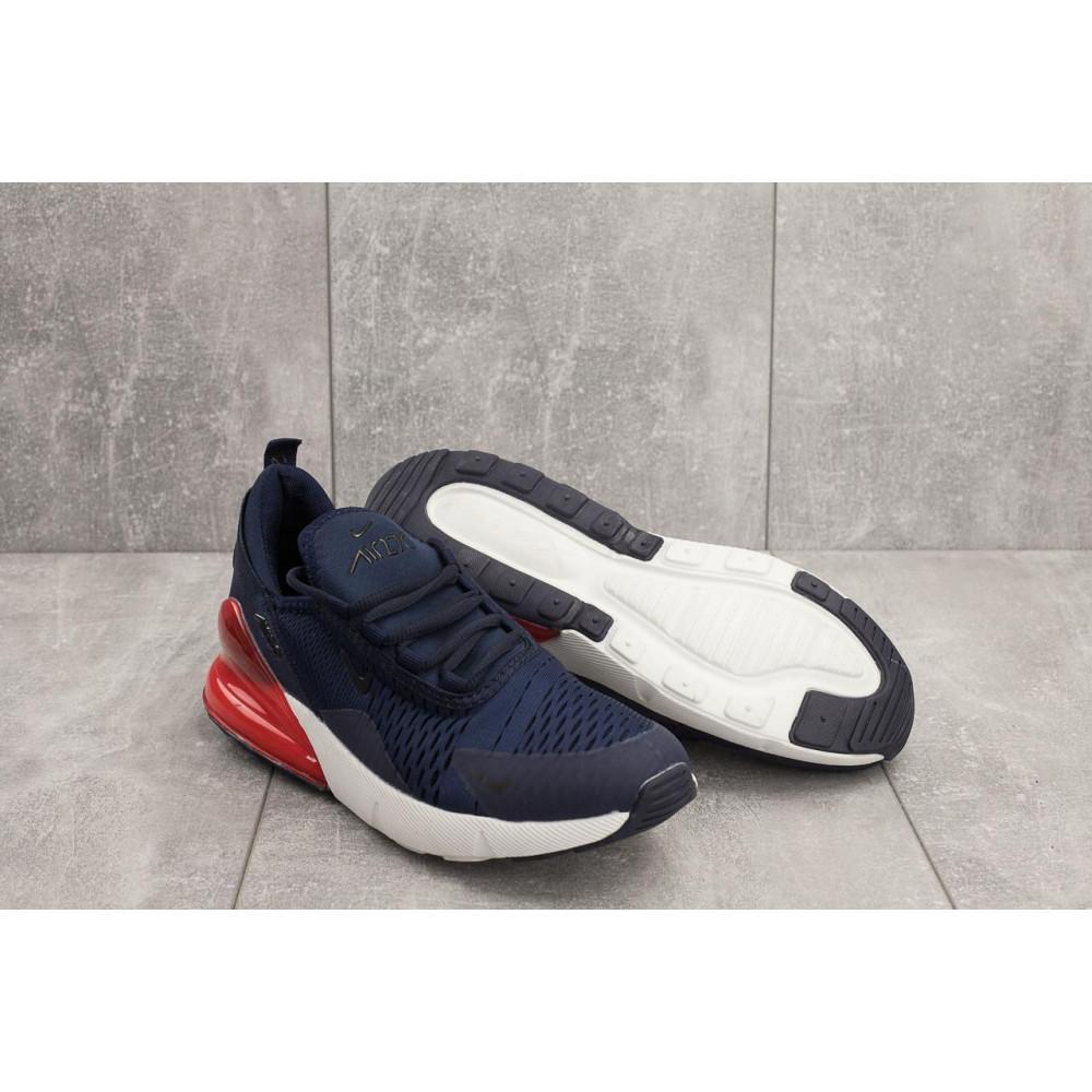 Беговые кроссовки мужские  - Мужские кроссовки текстильные весна/осень синие Aoka B 1122 -2 3
