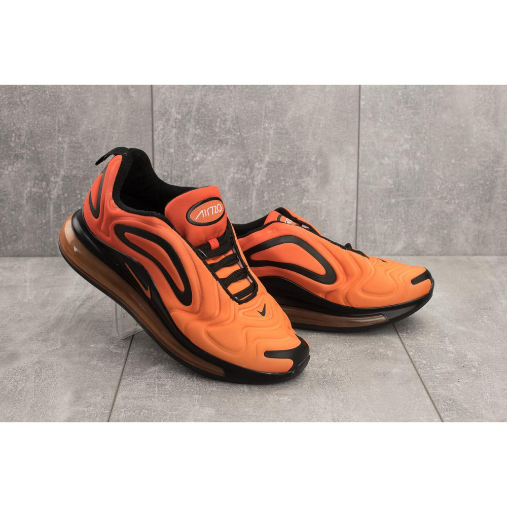 Демисезонные кроссовки мужские   - Мужские кроссовки текстильные весна/осень оранжевые Ditof A 1154 -9